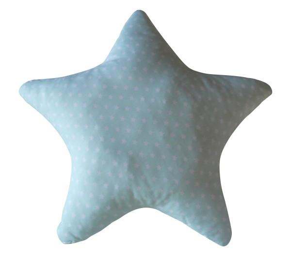 Kissen Stern mint