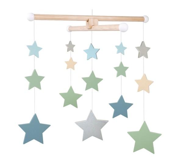 JaBaDaBaDo Mobile Sterne bunt