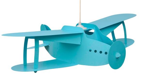 R&M Coudert Deckenlampe Flugzeug türkis