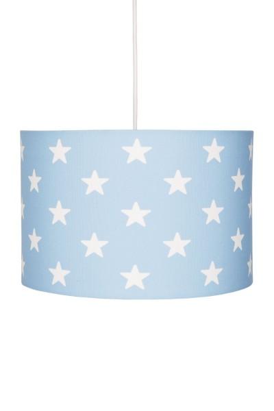 LIVONE Hängelampe Happy Style for Kids - STARS blau