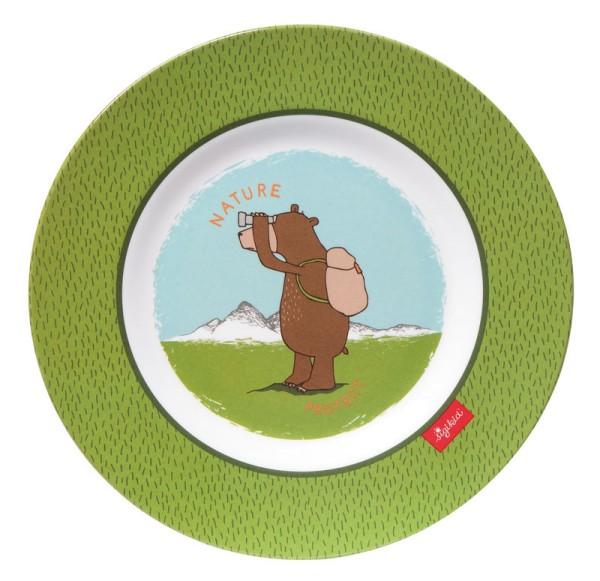 sigikid Melamin Teller Forest Grizzly (N)