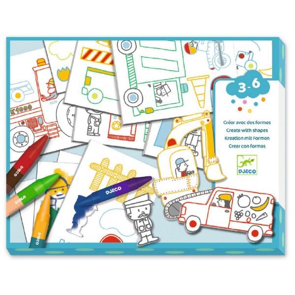 Djeco Eine Welt kreieren: Autos