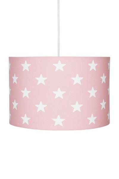 LIVONE Hängelampe Happy Style for Kids - STARS rosa