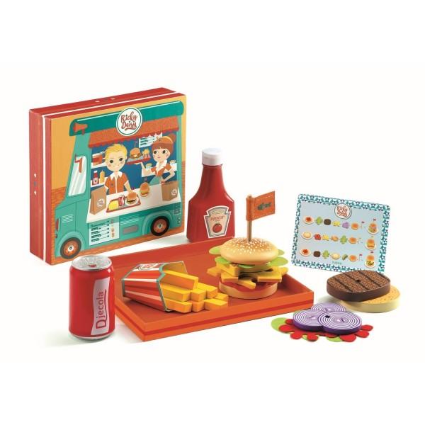 Djeco Rollenspiel Kinderküche Burgershop