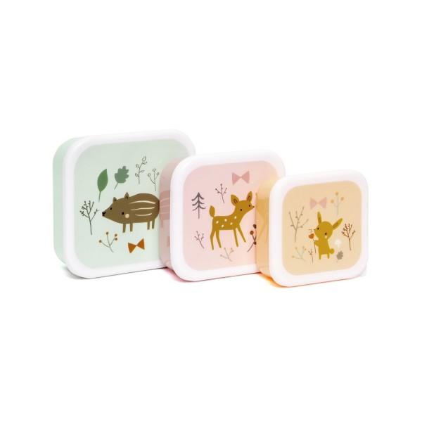 Petit Monkey Lunchbox - forest friends
