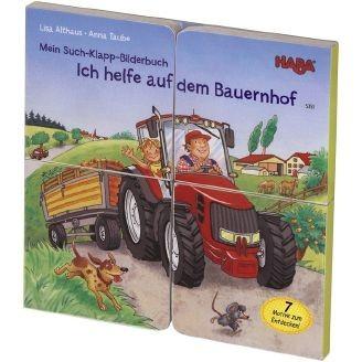 Haba Mein Such-Klapp-Bilderbuch - Ich helfe auf dem Bau