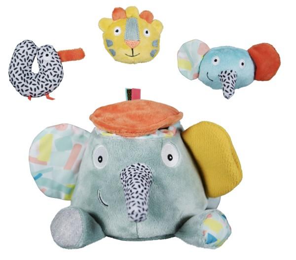 Ebulobo Jungle Boogie Ziggy der Aktivitäts Elefant