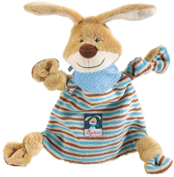sigikid Schnuffeltuch/Schmusetuch Semmel Bunny