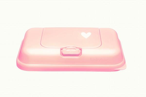 Funkybox TO GO Feuchttücher rosa kleines Herz