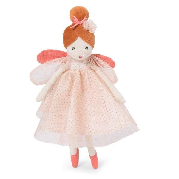 Moulin Roty Stoffpuppe Fee rosa 30 cm