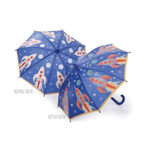 Floss & Rock Regenschirm mit Farbwechsel - Rakete