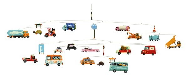 Djeco Mobile Traffic