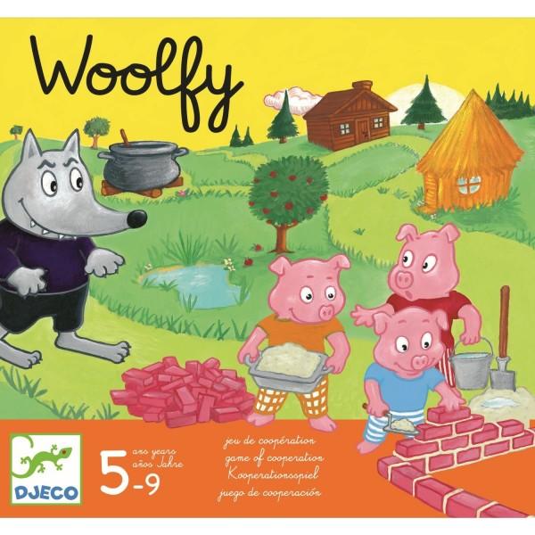Djeco Spiel: Woolfy