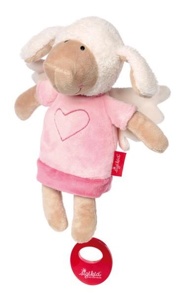 sigikid Spieluhr Schutzengel Schaf rosa