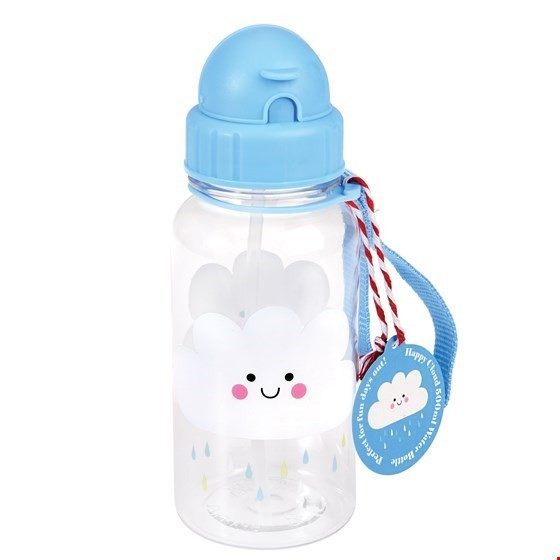 Rex London Trinkflasche Happy Rain Cloud
