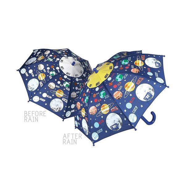 Floss & Rock Regenschirm mit Farbwechsel - Weltall
