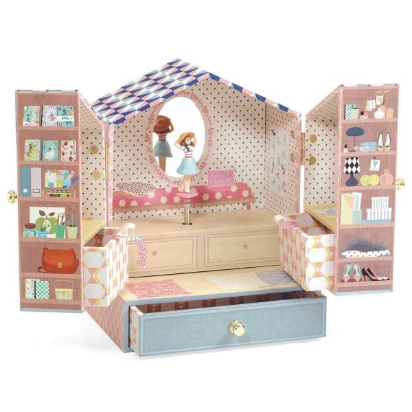 Djeco Spieluhr mit Schmuckkästchen: Tinou Shop