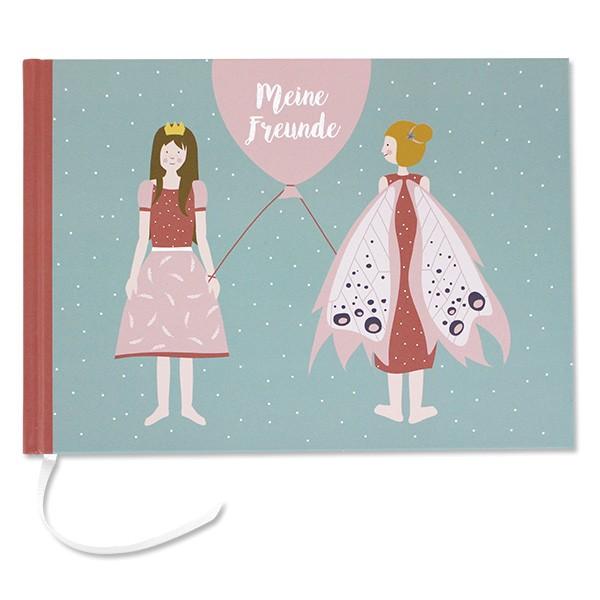 ava & yves Kindergarten Freundebuch Mädchen