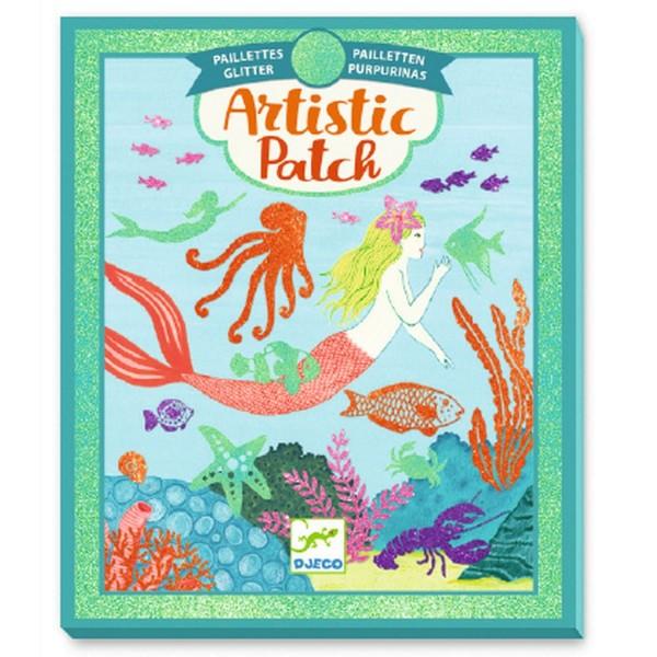 Djeco Artistic Patch: Meerjungfrauen