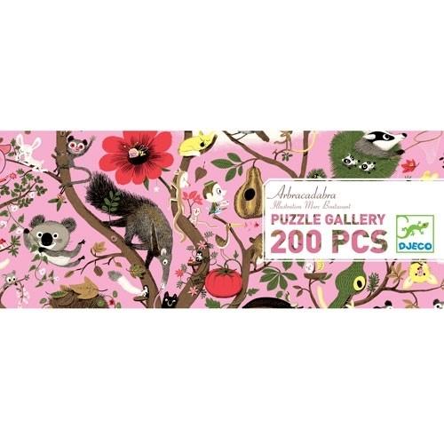 Djeco Puzzle Gallerie: Arbracadabra - 200 Teile