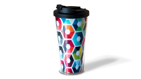 Remember Coffee to go Hexagon