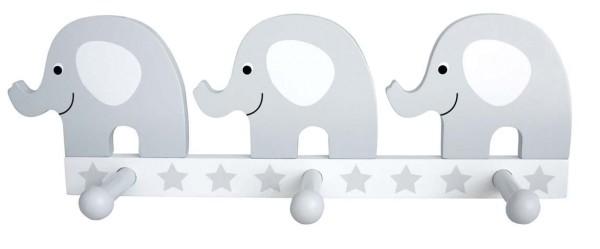 JaBaDaBaDo Garderobe Elefant grau