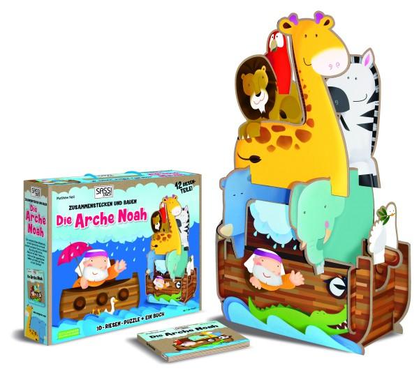 Sassi 3D Puzzle Arche Noah + Buch