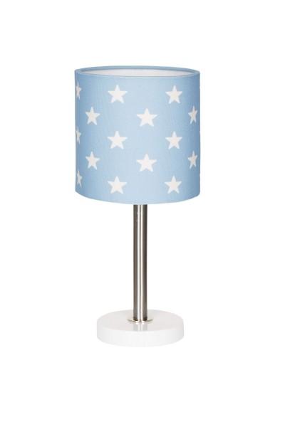 LIVONE Tischlampe Happy Style for Kids - STARS blau