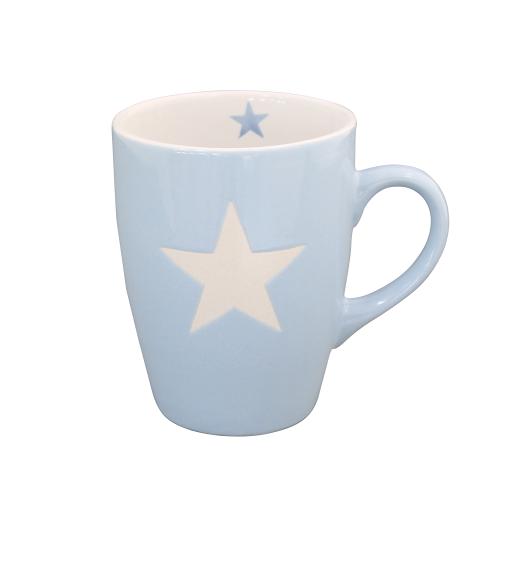 "Krasilnikoff ""Brightest Star"" Tasse Stern blau"