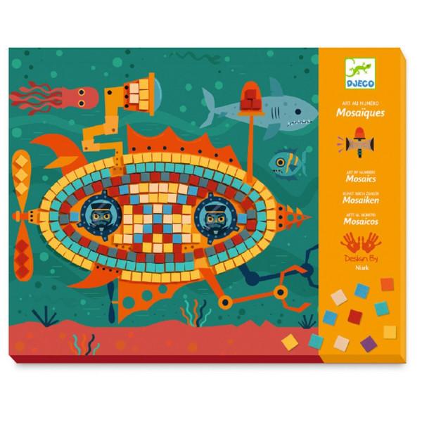 Djeco Kinderkunst Mosaik Top-Fahrer