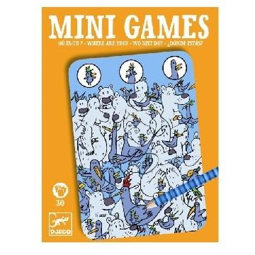 Djeco Mini Spiele: Wo ist Piou Piou