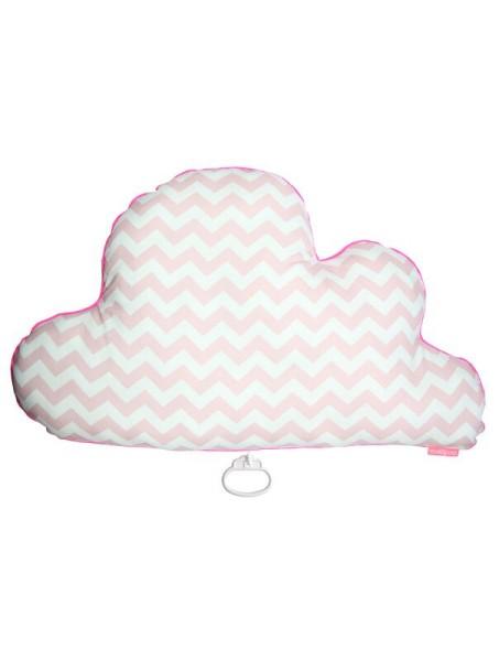 mellipou MEGA Spieluhr Wolke POPY rosa - 56 cm