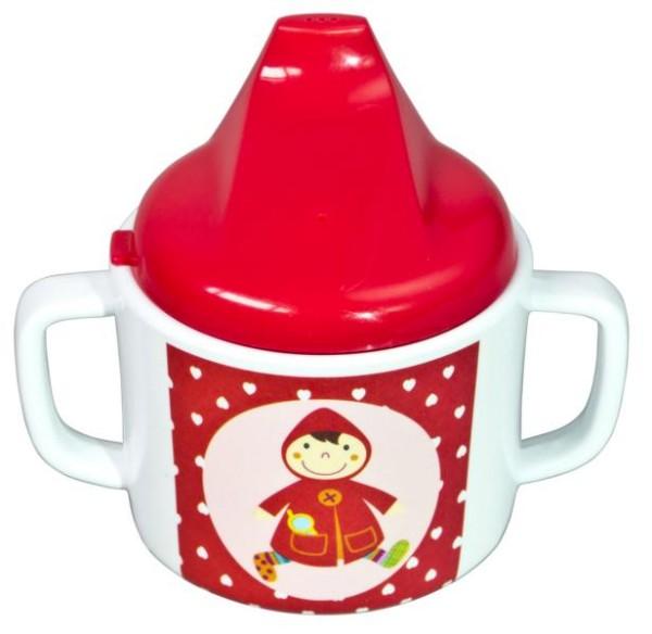 Ebulobo Tasse mit Deckel Rotkäppchen