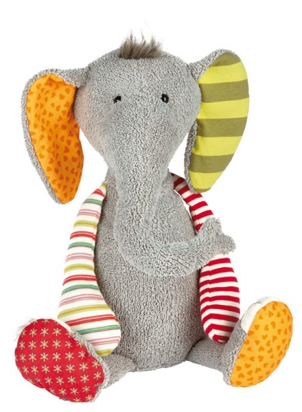 sigikid Elefant Sweety hellgrau