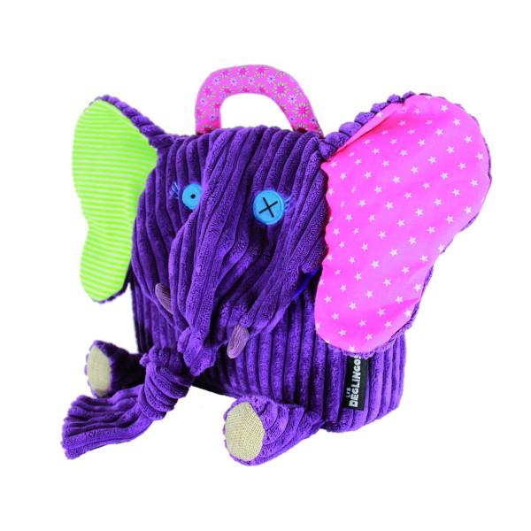 Les Deglingos Mini-Rucksack Sandykilos der Elefant